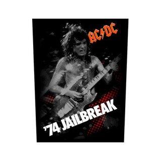 AC/DC 74 Jailbreak, バックパッチ