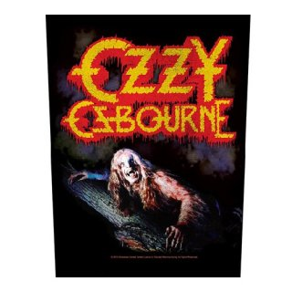 OZZY OSBOURNE Bark At The Moon, バックパッチ
