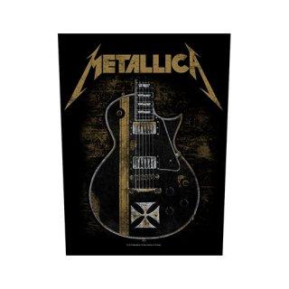 METALLICA Hetfield Guitar, バックパッチ