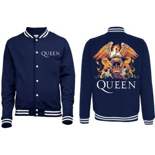QUEEN Crest with Back Printing, バーシティジャケット