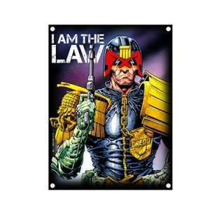JUDGE DREDD I Am The Law, 布製ポスター