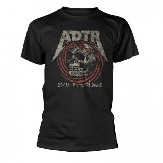 A DAY TO REMEMBER Flower skull, Tシャツ