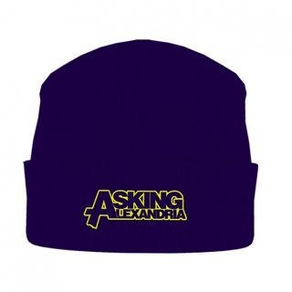 ASKING ALEXANDRIA Logo, ニットキャップ