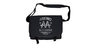 ASKING ALEXANDRIA Black Label, メッセンジャーバッグ