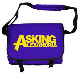 ASKING ALEXANDRIA Logo, メッセンジャーバッグ