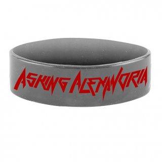 ASKING ALEXANDRIA Wrist Metal, シリコンリストバンド