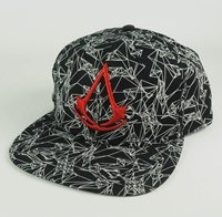 ASSASSINS CREED Logo red, キャップ
