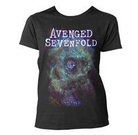 AVENGED SEVENFOLD Space face, レディースTシャツ