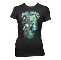 AVENGED SEVENFOLD Turbo skull, レディースTシャツ
