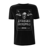 AVENGED SEVENFOLD Face card, Tシャツ