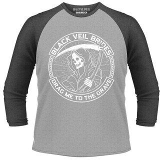 BLACK VEIL BRIDES Reaper, ラグラン七分袖シャツ