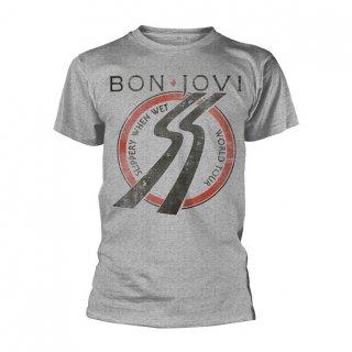 BON JOVI Slippery When Wet Tour, Tシャツ