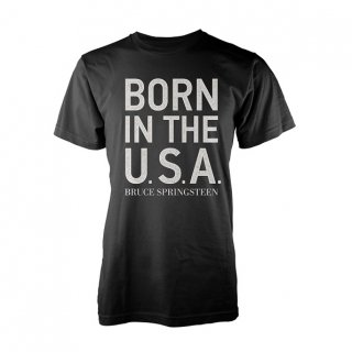 BRUCE SPRINGSTEEN Born In The Usa Blk, Tシャツ