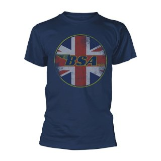 BSA Union Jack Logo, Tシャツ