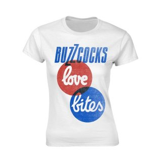 BUZZCOCKS Love Bites, レディースTシャツ
