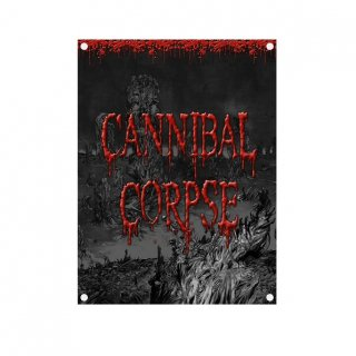 CANNIBAL CORPSE Skeletal Domain, 布製ポスター