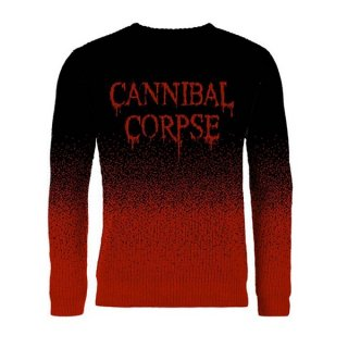 CANNIBAL CORPSE Dripping Logo (dip dye), セーター