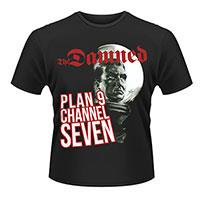 THE DAMNED Plan 9 channel 7 (plan 9), Tシャツ