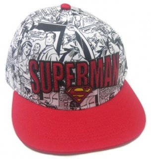 DC ORIGINALS Superman All Oer Print, キャップ