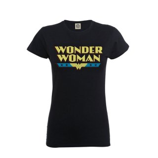 DC ORIGINALS Wonder Woman Logo, レディースTシャツ