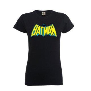 BATMAN Retro logo, レディースTシャツ