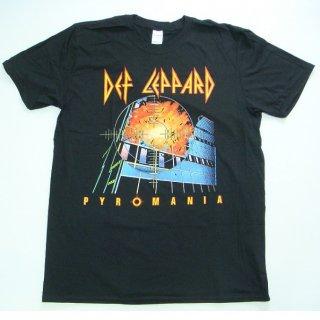 DEF LEPPARD Pyromania 2, Tシャツ