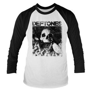 DEFTONES Skull, ラグランロングTシャツ