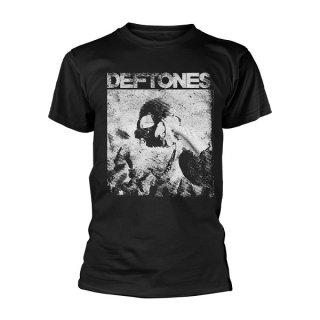 DEFTONES Skull Black, Tシャツ