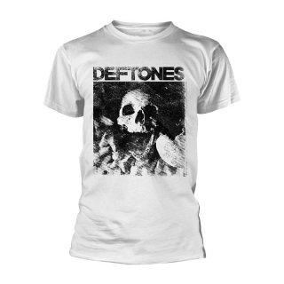 DEFTONES Skull White, Tシャツ