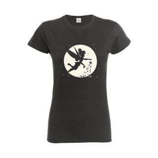 DISNEY Tinker Bell Moon, レディースTシャツ
