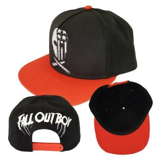 FALL OUT BOY Usa Skull, キャップ