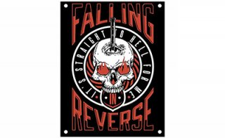 FALLING IN REVERSE Straight to hell, 布製ポスター