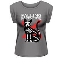FALLING IN REVERSE Cat & mouse, レディースTシャツ