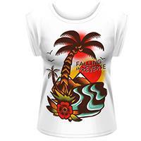 FALLING IN REVERSE Island, レディースTシャツ