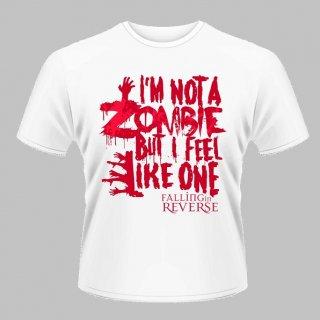 FALLING IN REVERSE Zombie White, Tシャツ