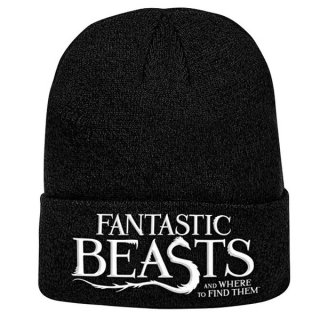 FANTASTIC BEASTS Logo, ニットキャップ