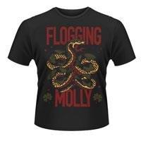 FLOGGING MOLLY Snake, Tシャツ