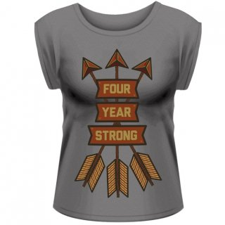 FOUR YEAR STRONG Arrows, レディースTシャツ