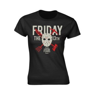 FRIDAY THE 13TH Day Of Fear, レディースTシャツ