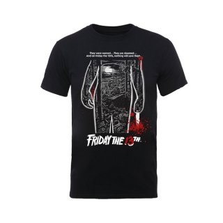 FRIDAY THE 13TH Bloody Poster, Tシャツ