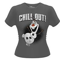 FROZEN Olaf Chill Out, レディースTシャツ