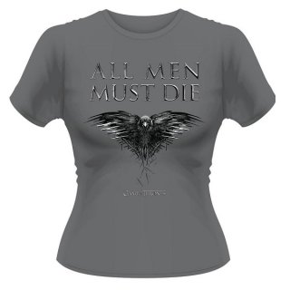 GAME OF THRONES All Men Must Die, レディースTシャツ