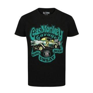 GAS MONKEY GARAGE Gasser, Tシャツ