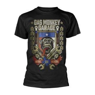GAS MONKEY GARAGE Go Big Or Go Home, Tシャツ