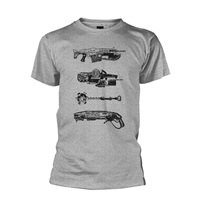 GEARS OF WAR Weapons, Tシャツ