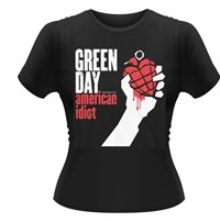 GREEN DAY American Idiot, レディースTシャツ
