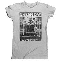 GREEN DAY Power Shot, レディースTシャツ