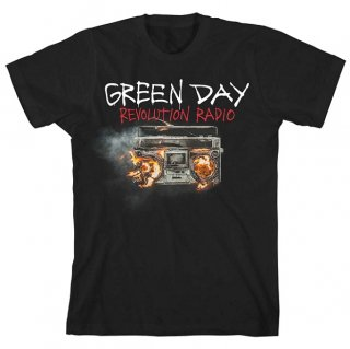 GREEN DAY Revolution Radio Cover, Tシャツ