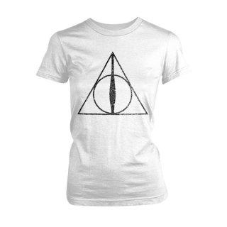 HARRY POTTER Deathly Hallows Symbol, レディースTシャツ