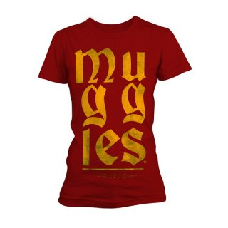 HARRY POTTER Muggles, レディースTシャツ